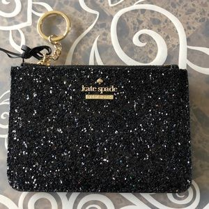 Kate Spade Glitter Cardholder/Coin purse ❤️❤️❤️